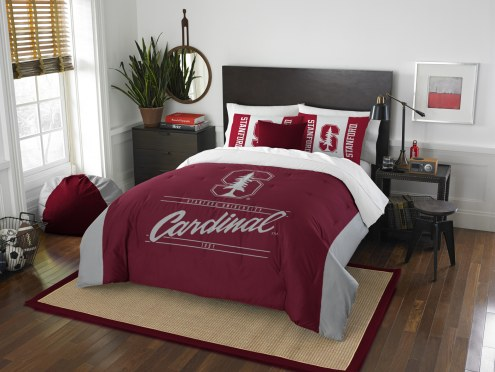 Stanford Cardinal Modern Take Full/Queen Comforter Set