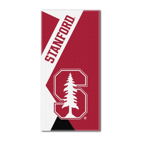 Stanford Cardinal Puzzle Beach Towel