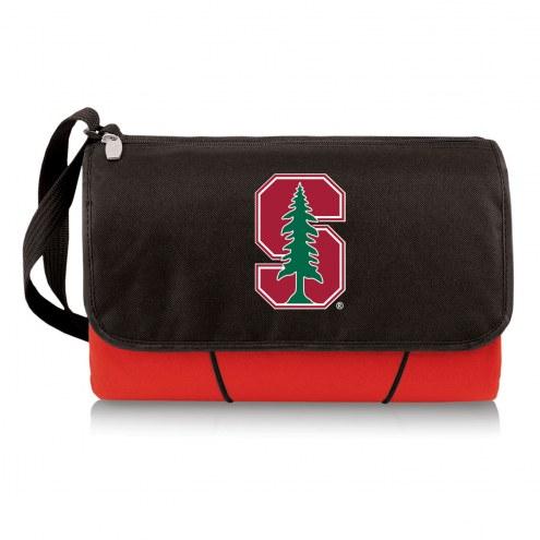 Stanford Cardinal Red Blanket Tote