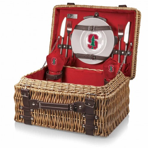 Stanford Cardinal Red Champion Picnic Basket