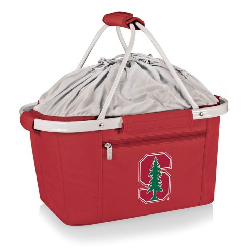 Stanford Cardinal Red Metro Picnic Basket