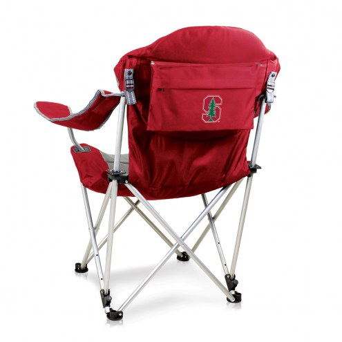 Stanford Cardinal Red Reclining Camp Chair