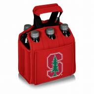 Stanford Cardinal Red Six Pack Cooler Tote