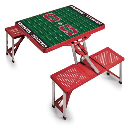 Stanford Cardinal Red Sports Folding Picnic Table