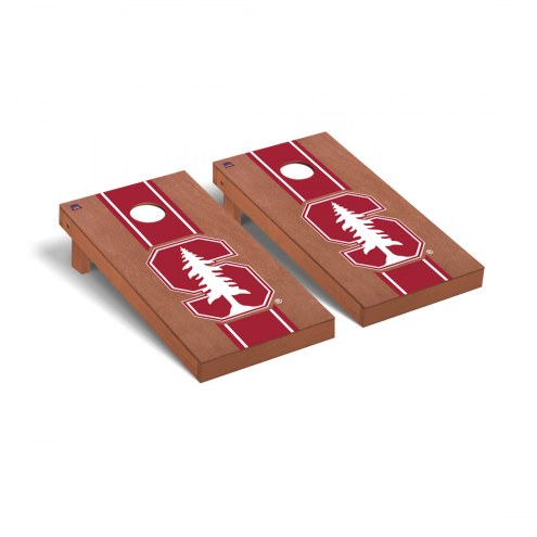 Stanford Cardinal Rosewood Stained Cornhole Game Set
