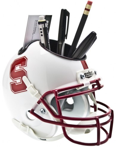 Stanford Cardinal Schutt Football Helmet Desk Caddy
