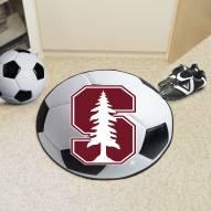 Stanford Cardinal Soccer Ball Mat