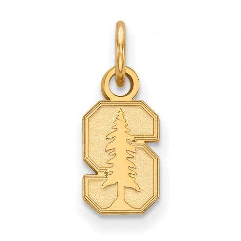 Stanford Cardinal Sterling Silver Gold Plated Extra Small Pendant
