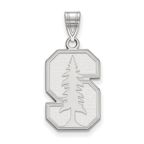 Stanford Cardinal Sterling Silver Large Pendant