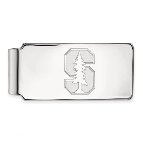 Stanford Cardinal Sterling Silver Money Clip