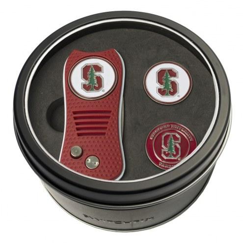 Stanford Cardinal Switchfix Golf Divot Tool & Ball Markers