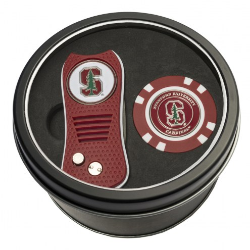 Stanford Cardinal Switchfix Golf Divot Tool & Chip