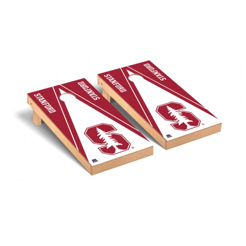 Stanford Cardinal Triangle Cornhole Game Set