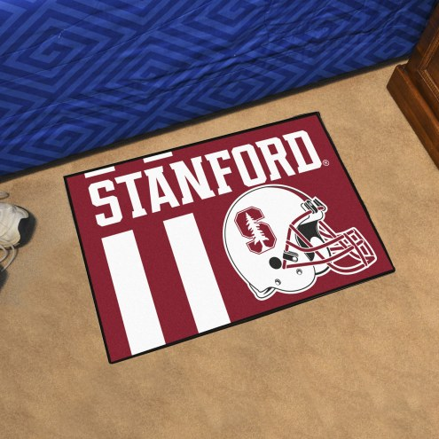 Stanford Cardinal Uniform Inspired Starter Rug