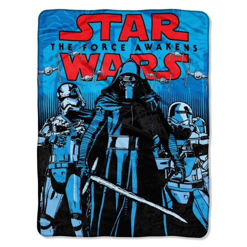 Star Wars First Arrival Micro Raschel Throw Blanket