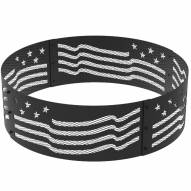 "Stars & Stripes 36"" Round Steel Fire Ring"