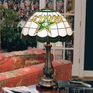 Dallas Stars NHL Stained Glass Table Lamp