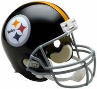 Riddell Pittsburgh Steelers 1963-76 Deluxe Collectible Throwback NFL Football Helmet