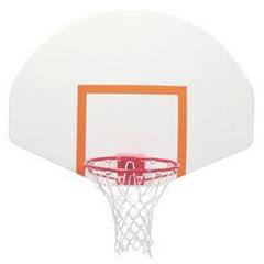 Spalding Steel Front Mount Fan Basketball Backboard