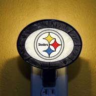 Pittsburgh Steelers NFL Stained Glass Night Light