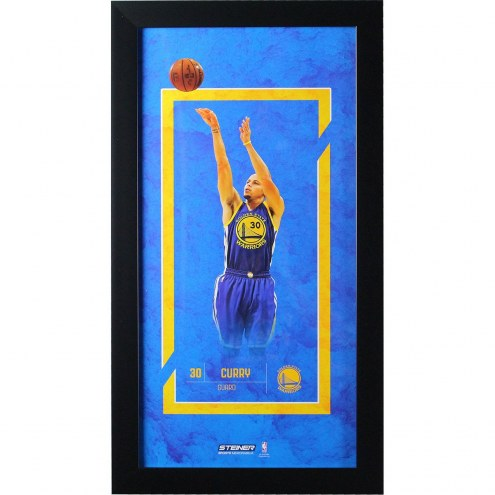 Stephen Curry Golden State Warriors 10x20 Player Profile Wall Art