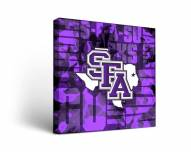 Stephen F. Austin State Lumberjacks Fight Song Canvas Wall Art