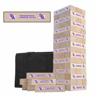 Stephen F. Austin State Lumberjacks Gameday Tumble Tower
