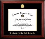 Stephen F. Austin State Lumberjacks Gold Embossed Diploma Frame