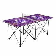Stephen F. Austin State Lumberjacks Pop Up 6' Ping Pong Table