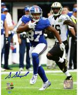 Sterling Shepard Signed New York Giants 8 x 10 Photo