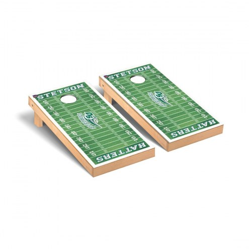 Stetson Hatters Football Field Cornhole Game Set