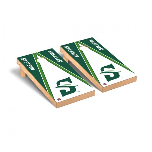 Stetson Hatters Triangle Wooden Cornhole Game Set