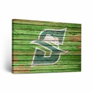 Stetson Hatters Weathered Canvas Wall Art