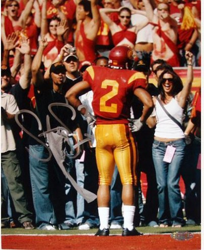 Steve Smith USC TD Celebration Vertical 8 x 10