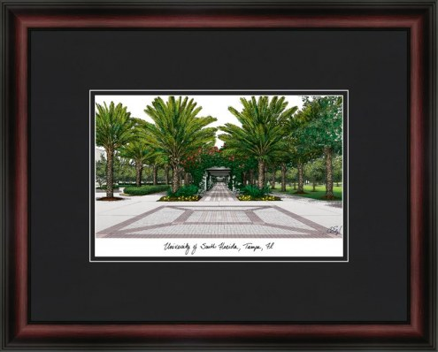 University of South Florida Academic Framed Lithograph