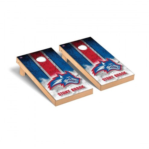 Stony Brook Seawolves Mini Cornhole Set
