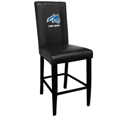 Stony Brook Seawolves XZipit Bar Stool 2000 with Wolfie Logo