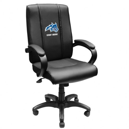 Stony Brook Seawolves XZipit Office Chair 1000 with Wolfie Logo