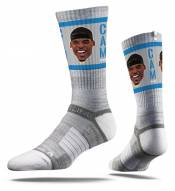 Strideline Carolina Panthers Cam Newton Face Adult Crew Socks