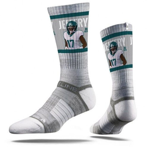 Strideline Philadelphia Eagles Alshon Jeffery Adult Crew Socks