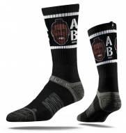 Strideline Antonio Brown Face Adult Crew Socks