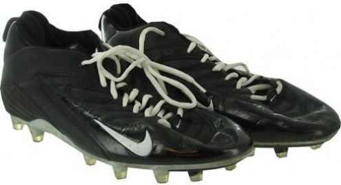 Syracuse 2007 Game Used Football Shoes #75 Size: 14