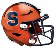 """Syracuse Orange 12"""" Helmet Sign"""