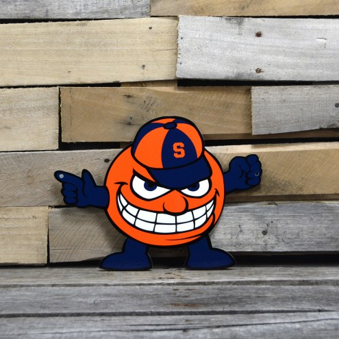 "Syracuse Orange 12"" Steel Logo Sign"