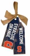 """Syracuse Orange 12"""" Team Tags"""