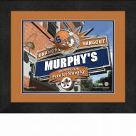 Syracuse Orange 13 x 16 Personalized Framed Sports Pub Print