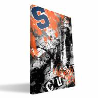 "Syracuse Orange 16"" x 24"" Spirit Canvas Print"