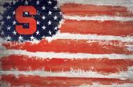 "Syracuse Orange 17"" x 26"" Flag Sign"