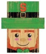 "Syracuse Orange 19"" x 16"" Leprechaun Head"
