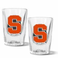 Syracuse Orange 2 oz. Prism Shot Glass Set